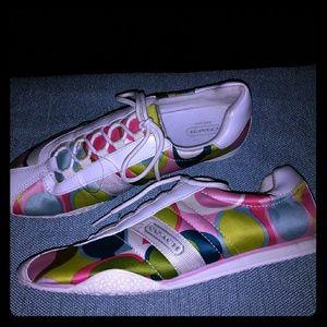 Coach woman's tennis shoes